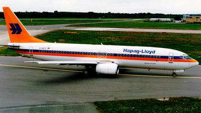 D-AHFC - Boeing 737-8K5 - Hapag-Lloyd