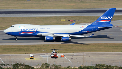 4K-SW800 - Boeing 747-4R7F(SCD) - Silk Way Airlines