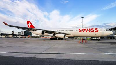 HB-JMH - Airbus A340-313X - Swiss