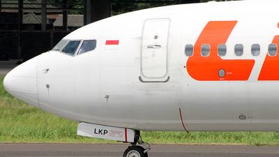 PK-LKP - Boeing 737-8GP - Lion Air