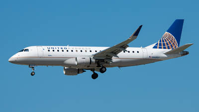A picture of N168SY - Embraer E175LR - United Airlines - © charly1684