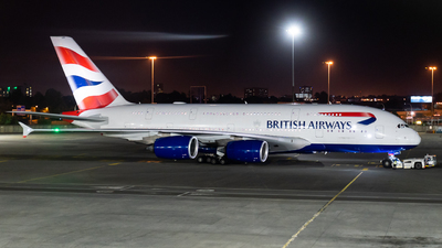 G-XLEK - Airbus A380-841 - British Airways