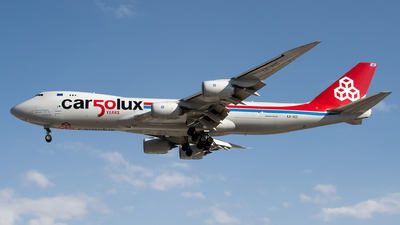 LX-VCC - Boeing 747-8R7F - Cargolux Airlines International