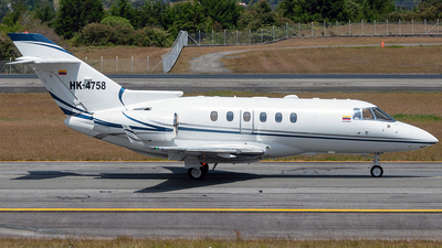 A picture of HK4758 - Hawker 900XP - [HA0159] - © Andres Ramirez