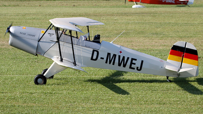 D-MWEJ - Bücker 131 Jungmann - Private