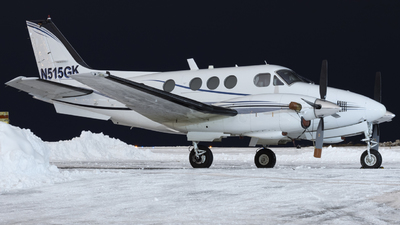 N515GK - Beechcraft E90 King Air - Private
