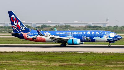 B-5665 - Boeing 737-8HX - China United Airlines