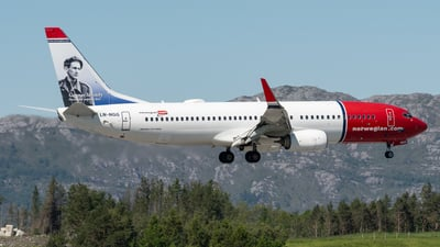 LN-NGG - Boeing 737-8JP - Norwegian