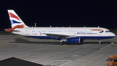 G-GATP - Airbus A320-232 - British Airways