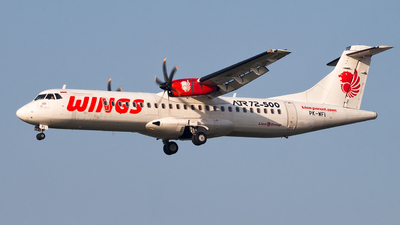 PK-WFI - ATR 72-212A(500) - Wings Air