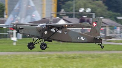 V-613 - Pilatus PC-6/B2-H2 Turbo Porter - Switzerland - Air Force