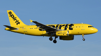 A picture of N502NK - Airbus A319132 - [2433] - © DJ Reed - OPShots Photo Team