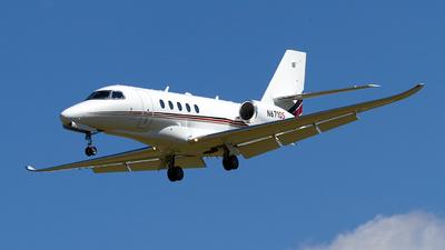 A picture of N671QS - Cessna 680A Citation Latitude - NetJets - © Jeremy D. Dando
