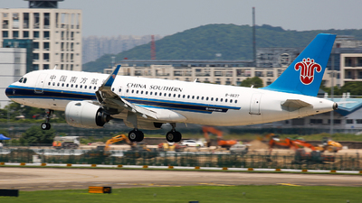 A picture of B8637 - Airbus A320271N - China Southern Airlines - © Keanu Chen