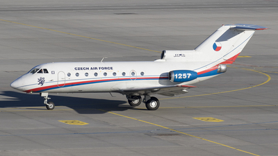 1257 - Yakovlev Yak-40K - Czech Republic - Air Force