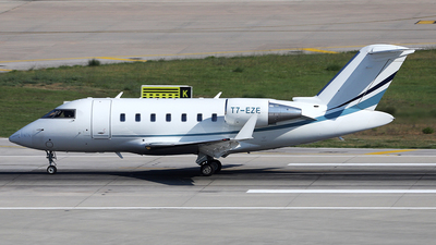 T7-EZE - Bombardier CL-600-2B16 Challenger 605 - Private