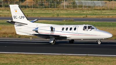 A picture of ECLPP - Cessna 501 Citation 1/SP - [5010232] - © Jesse Vervoort