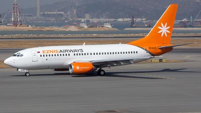 A picture of EIULN - Boeing 73773V - Eznis Airways - © Sandra