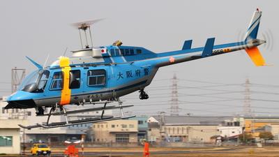 A picture of JA6956 - Bell 206L4 LongRanger IV - [52422] - © K.Kohei