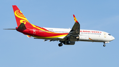 B-5478 - Boeing 737-84P - Hainan Airlines