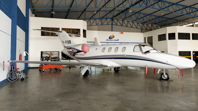 A picture of PRFSB - Cessna 525 CitationJet CJ1+ - [5250606] - © Sergio Mendes