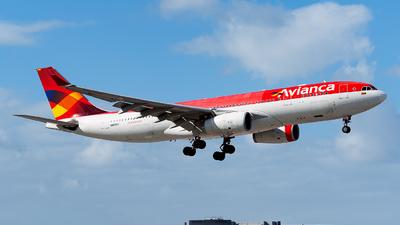 N969AV - Airbus A330-243 - Avianca