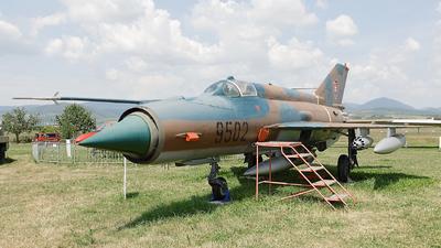 9502 - Mikoyan-Gurevich MiG-21MF Fishbed J - Slovakia - Air Force