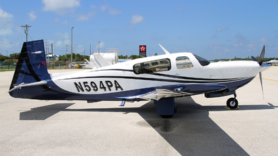 N594PA - Mooney M20TN Acclaim - Private