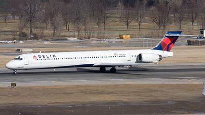 N953DN - McDonnell Douglas MD-90-30 - Delta Air Lines