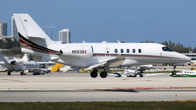 N503QS - Cessna Citation Latitude - NetJets Aviation