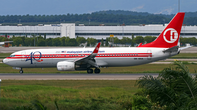 9M-MXA - Boeing 737-8H6 - Malaysia Airlines