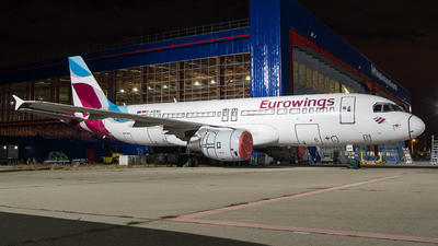 A picture of DABNK - Airbus A320214 - Eurowings - © Hubay Andor