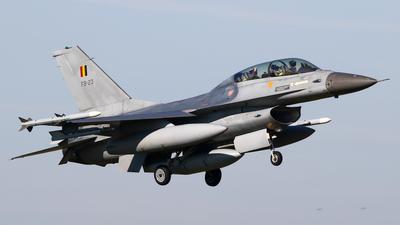 FB-23 - General Dynamics F-16BM Fighting Falcon - Belgium - Air Force