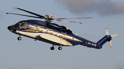 VH-NYW - Sikorsky S-92A Helibus - Bond Helicopters Australia