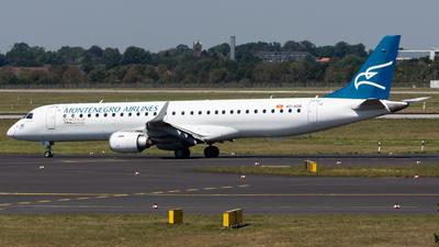 4O-AOB - Embraer 190-200LR - Montenegro Airlines