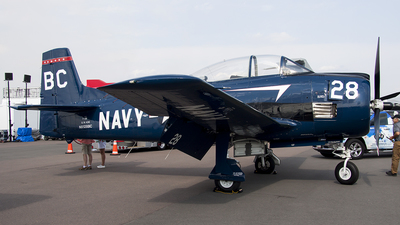 NX128BC - North American T-28B Trojan - Private