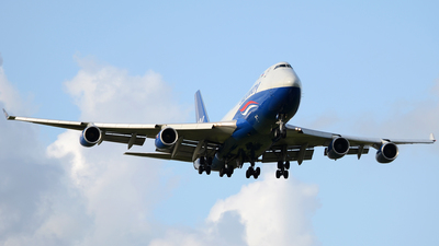 4K-SW888 - Boeing 747-4R7F(SCD) - Silk Way West Airlines