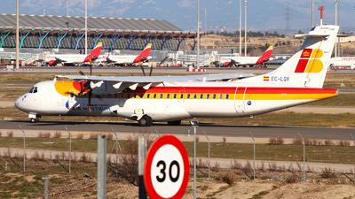 A picture of ECLQV - ATR 72600 - Iberia - © Rafal Pruszkowski