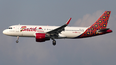 PK-LAY - Airbus A320-214 - Batik Air