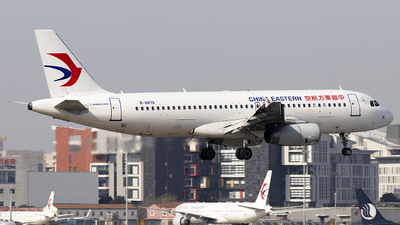 A picture of B6876 - Airbus A320232 - China Eastern Airlines - © Lixing Moo