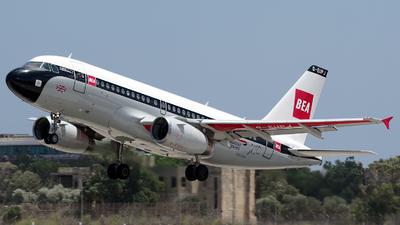 A picture of GEUPJ - Airbus A319131 - British Airways - © Buzu
