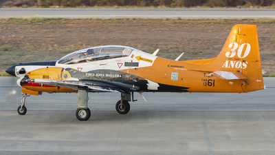 FAB1361 - Embraer T-27 Tucano - Brazil - Air Force