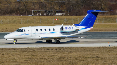OE-GLS - Cessna 650 Citation VII - Tyrolean Jet Services