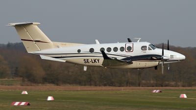 SE-LKY - Beechcraft B200 Super King Air - Sweden - Flight Inspection