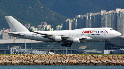 HS-STC - Boeing 747-412 - Orient Thai Airlines
