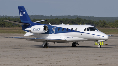 N514UP - Cessna 560XL Citation XLS - Wheels Up