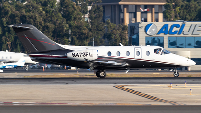 N473FL - Raytheon Hawker 400XP - Private