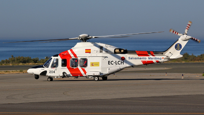 A picture of ECLCH - AgustaWestland AW139 - [31257] - © Mike Barker