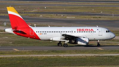 A picture of ECMFO - Airbus A319111 - Iberia - © Javier González