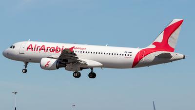 CN-NMF - Airbus A320-214 - Air Arabia Maroc